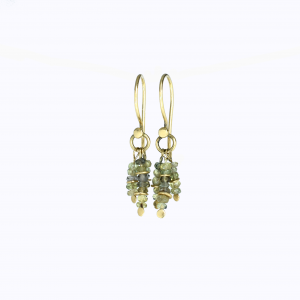 Earrings 'small' Dots Sapphire