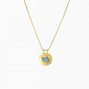 Necklace Sun Opal
